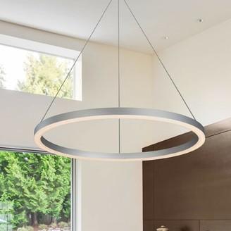 Wade Logan Chifdale Orbicular 1-Light LED Unique / Statement Chandelier