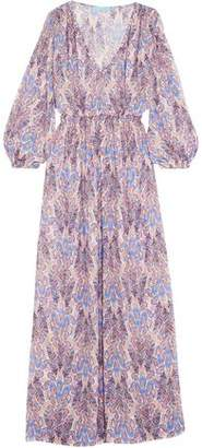 Melissa Odabash Printed Crepe De Chine Coverup