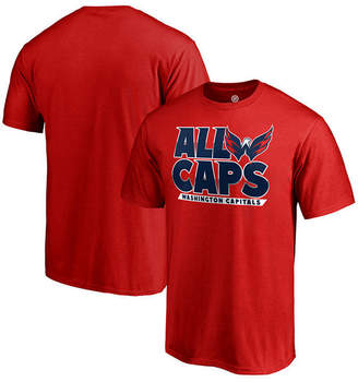 Majestic Men's Washington Capitals Playoff Slogan T-Shirt