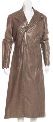 Christian Dior Leather Coat