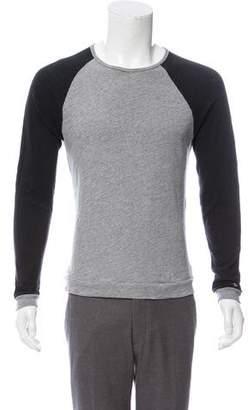 Rag & Bone Woven Long Sleeve Sweater