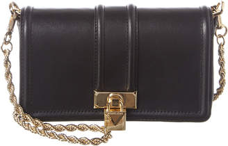 MICHAEL Michael Kors Padlock Chain Leather Crossbody