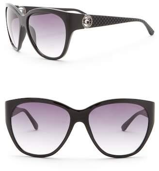 GUESS 60mm Oversized Sunglasses