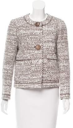 Lafayette 148 Metallic Tweed Jacket w/ Tags