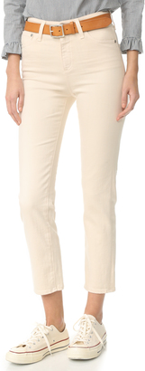 AG The Phoebe High Waisted Jeans $205 thestylecure.com