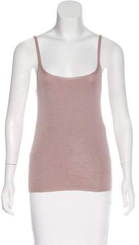 Prada Cashmere-Blend Knit Top