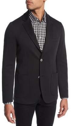 Brioni Cotton-Silk Knit Blazer