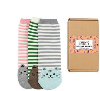 Studio Hop Personalised Socks Gift Box