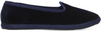10mm Blu Velvet Loafers