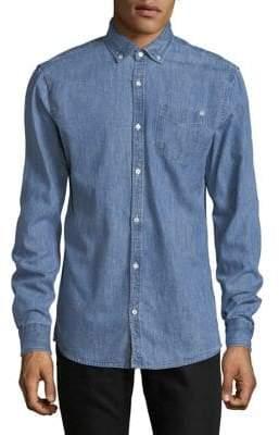 Scotch & Soda Regular-Fit Woven Denim Shirt