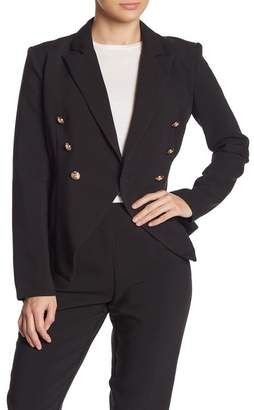 Do & Be Do + Be Double Breasted Peak Lapel Blazer