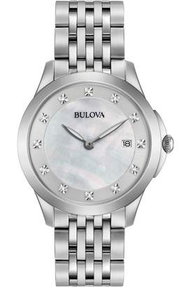 Bulova Ladies Diamond Watch 96S174