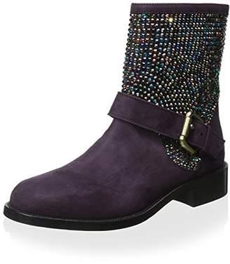Rene Caovilla Women's Boot with Studs
