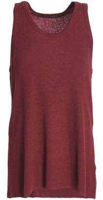 Haider Ackermann Ribbed Wool And Cotton-Blend Top