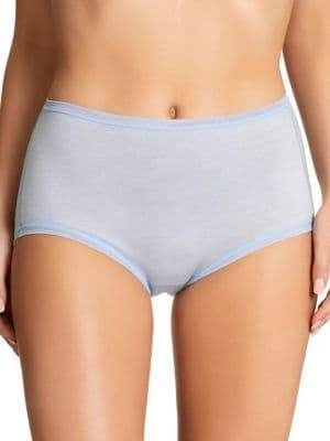 Fine Lines Pure Cotton Full Briefs