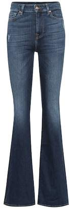 7 For All Mankind Lisha high-rise flared jeans