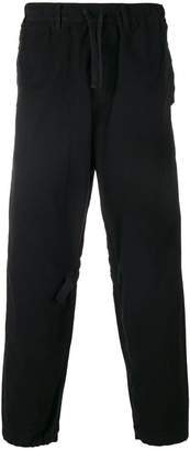 Stone Island Shadow Project elasticated waist trousers