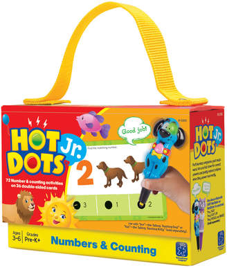 Educational Insights Hot Dots Numbers & Counting Jr. Card Set
