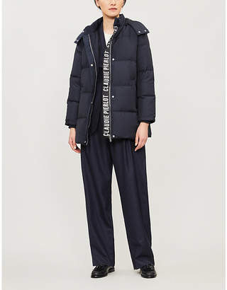 Claudie Pierlot Hooded shell jacket