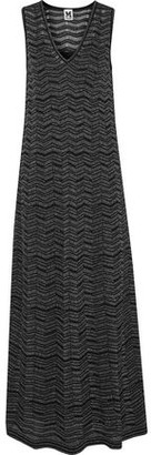 M Missoni Metallic Knitted Maxi Dress