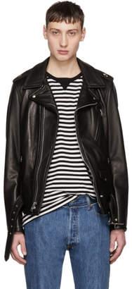 Schott Black Leather Perfecto Jacket