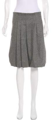 Gunex Wool Knee-Length Skirt