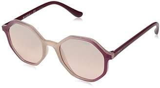 Vogue Women's 0vo5222s Non-Polarized Iridium Round Sunglasses