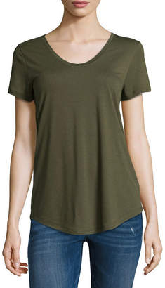 A.N.A Scoop Neck Tee