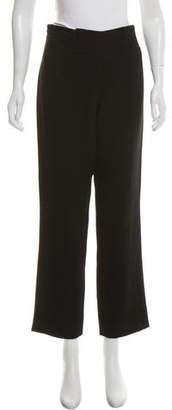 Ralph Rucci Mid-Rise Wool Pants