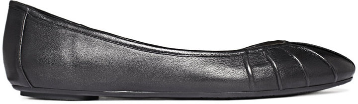 Nine West Blustery Pleated Flats
