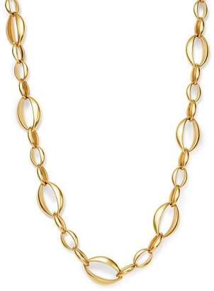 """Bloomingdale's Interlocking Oval Necklace in 14K Yellow Gold, 18"""" - 100% Exclusive"""