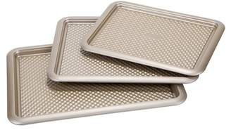 ART AND COOK Nonstick Golden Cookie Sheet 3-Piece Set