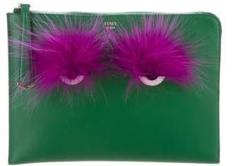 Fendi Bag Bugs Clutch