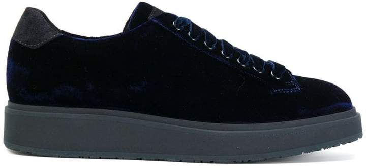 Santoni lace-up sneakers