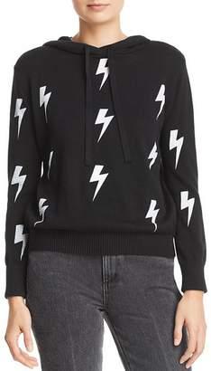 Aqua Lightening Bolt Hooded Sweater - 100% Exclusive