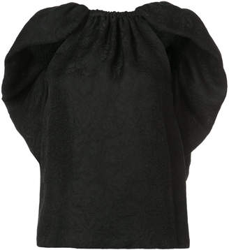 Rosie Assoulin ruffle back top