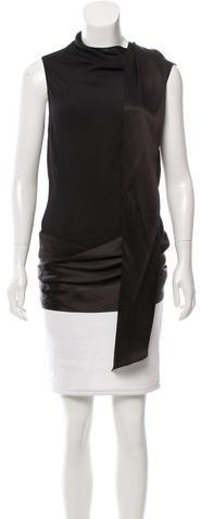 Tom Ford Silk Asymmetrical Top