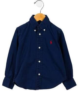 Ralph Lauren Toddler Boys' Button-Up Shirt