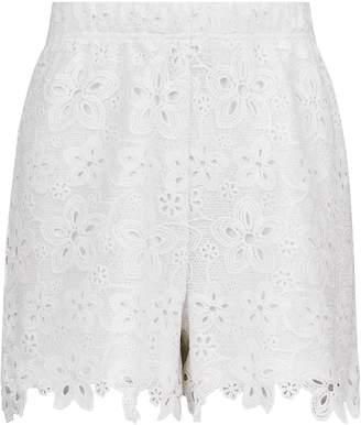 0e7f5c1302 Dorothy Perkins Womens **Tall Ivory Lace Shorts