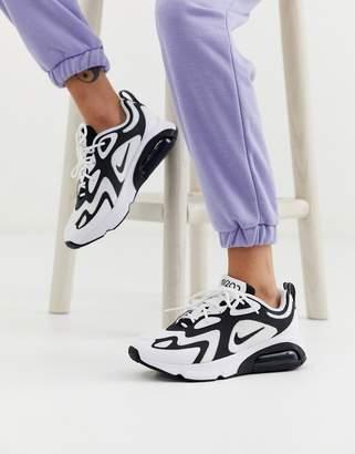 Nike triple black Air Max 200 sneakers