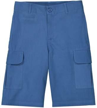La Redoute COLLECTIONS Plain Combat Bermuda Shorts, 3-12 Years
