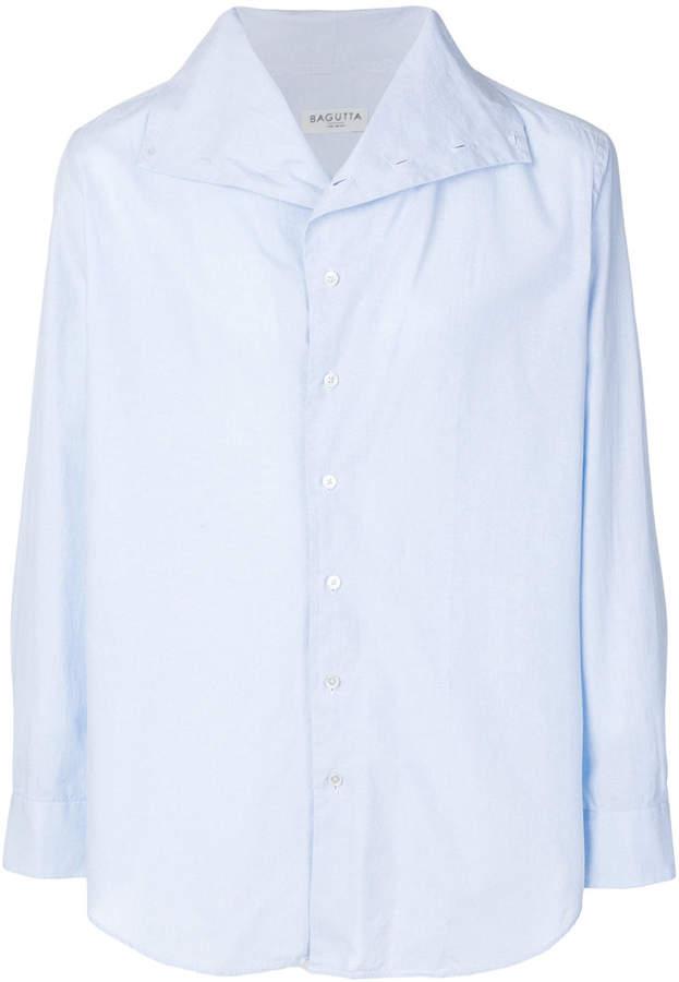 Bagutta oversized collar shirt