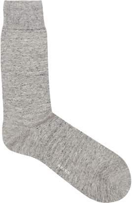 Reiss Ponti-Marl Sock Marl Textured Socks