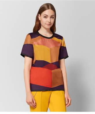 Bottega Veneta Multicolor Silk Top