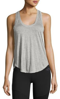 The North Face Versitas Jersey Crop Tank, Light Gray $30 thestylecure.com
