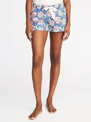 "Old Navy Printed Poplin Boxers for Women (2 1/2"")"