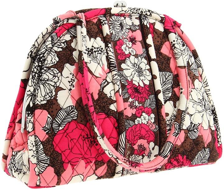 Vera Bradley Eloise (Mocha Rouge) - Bags and Luggage