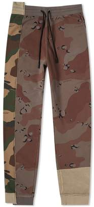 Off-White Off White Reconstructed Camo Sweat Pant