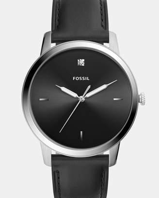 Fossil The Minimalist Black Analogue Watch