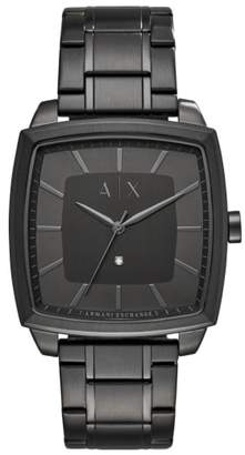 Armani Exchange Square Bracelet Watch, 40mm